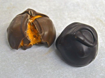 Our Orange Cream chocolates