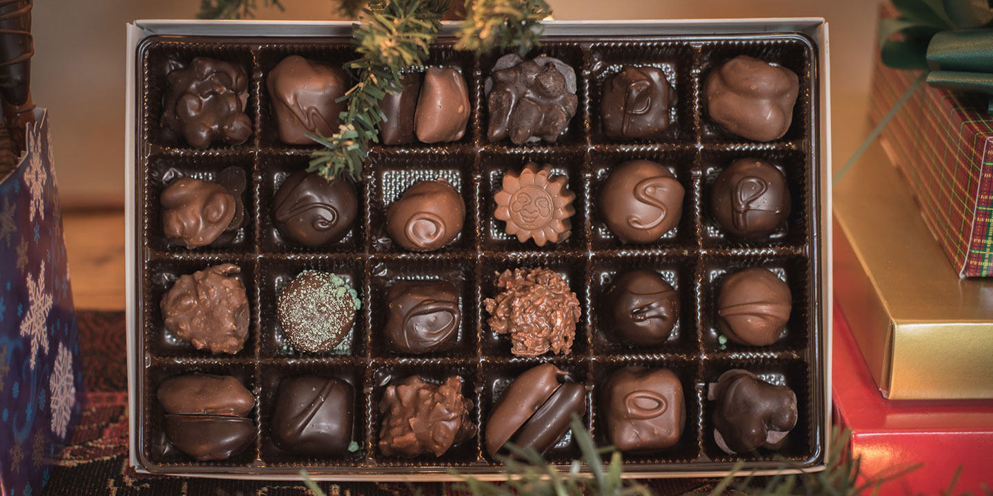 Gift box of Brandt's Chocolates