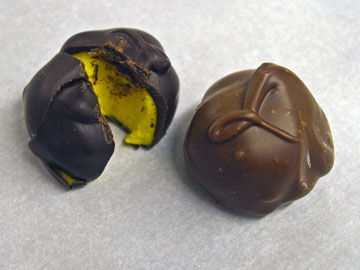 Our lemon cream chocolates