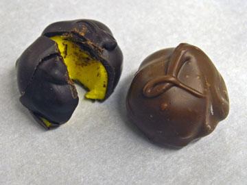 Our lemon cream chocolates