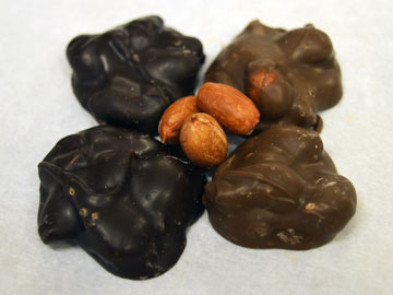 Our nut peanut chocolates